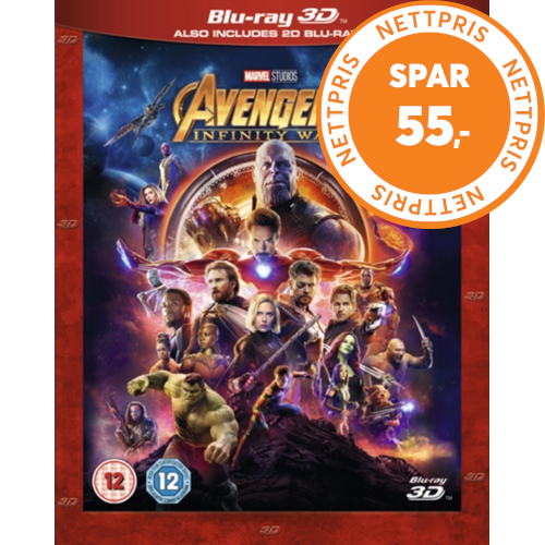 Avengers: Infinity War (UK-import) (Blu-ray 3D)