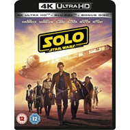 Solo - A Star Wars Story (UK-import) (4K Ultra HD + Blu-ray)