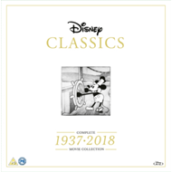 Disney Classics: Complete Movie Collection 1937-2018 (UK-import) (BLU-RAY)