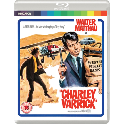 Charley Varrick (UK-import) (BLU-RAY)