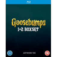 Produktbilde for Goosebumps/Goosebumps 2 (UK-import) (BLU-RAY)