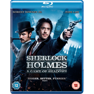 Produktbilde for Sherlock Holmes: A Game Of Shadows (UK-import) (BLU-RAY)