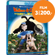 Wallace & Gromit - Varulvkaninens Forbannelse (BLU-RAY)