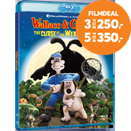 Produktbilde for Wallace & Gromit - Varulvkaninens Forbannelse (BLU-RAY)