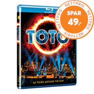 Produktbilde for Toto - 40 Tours Around The Sun (BLU-RAY)