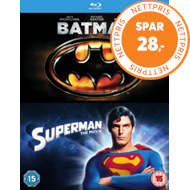 Produktbilde for Batman/Superman: The Movie (UK-import) (BLU-RAY)