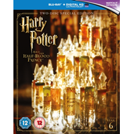 Produktbilde for Harry Potter And The Half-Blood Prince (UK-import) (BLU-RAY)