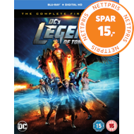 DC's Legends Of Tomorrow: The Complete First Season (UK-import) (BLU-RAY)