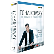 Produktbilde for Tchaikovsky: The Complete Symphonies (UK-import) (BLU-RAY)