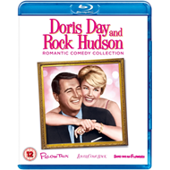 Produktbilde for Doris Day And Rock Hudson Romantic Comedy Collection (UK-import) (BLU-RAY)