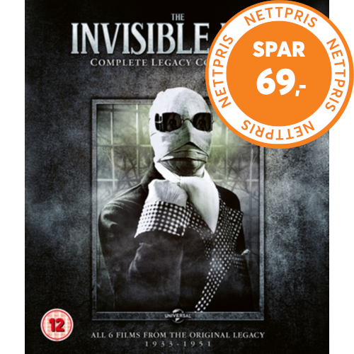 The Invisible Man: Complete Legacy Collection (UK-import) (BLU-RAY)