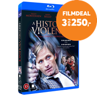 Produktbilde for A History Of Violence (DK-import) (BLU-RAY)