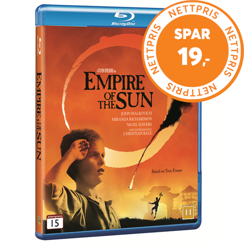 Empire Of The Sun (DK-import) (BLU-RAY)