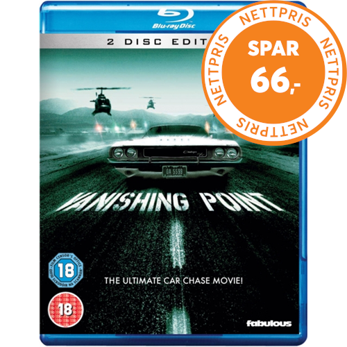 Vanishing Point (UK-import) (BLU-RAY)