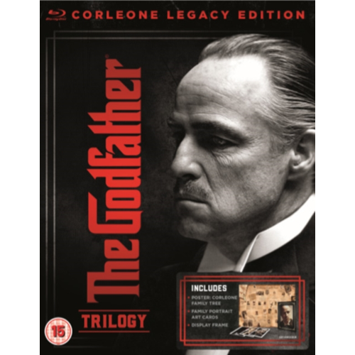 Gudfaren 1-3 / The Godfather Trilogy (UK-import) (BLU-RAY)