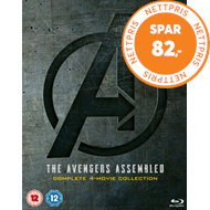 Produktbilde for Avengers: 4-Movie Collection (UK-import) (BLU-RAY)