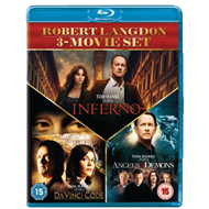 Produktbilde for The Da Vinci Code / Angels And Demons / Inferno (UK-import) (BLU-RAY)