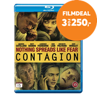 Produktbilde for Contagion (DK-import) (BLU-RAY)