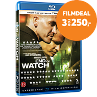 Produktbilde for End Of Watch (DK-import) (BLU-RAY)