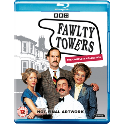 Fawlty Towers / Hotell I Særklasse - The Complete Collection (UK-import) (BLU-RAY)