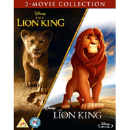 Produktbilde for The Lion King / Løvenes Konge (1994 / 2019): 2-Movie Collection (UK-import) (BLU-RAY)