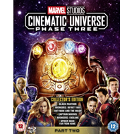 Produktbilde for Marvel Studios Cinematic Universe: Phase Three - Part Two (UK-import) (BLU-RAY)