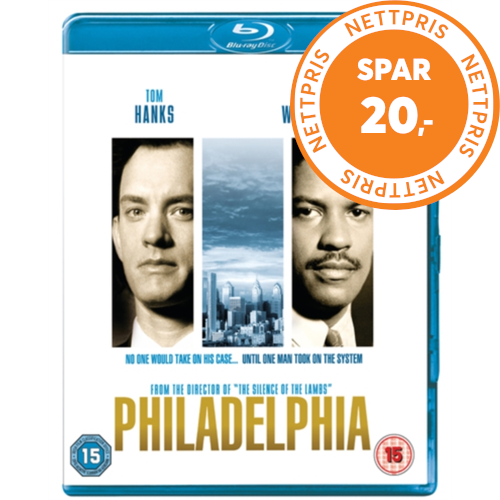 Philadelphia (1993) (UK-import) (BLU-RAY)