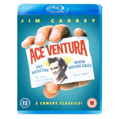Ace Ventura 1-2 (UK-import) (BLU-RAY)