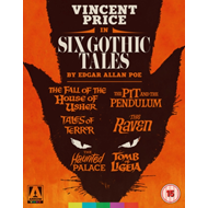 Produktbilde for Six Gothic Tales By Edgar Allan Poe - Collection (UK-import) (BLU-RAY)