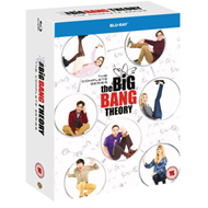 Produktbilde for The Big Bang Theory - Sesong 1-12: The Complete Series (UK-import) (BLU-RAY)