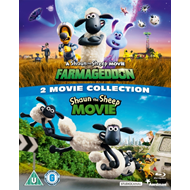 Produktbilde for Shaun The Sheep 1-2: Two Movie Collection (UK-import) (BLU-RAY)