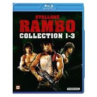 Produktbilde for Rambo 1-3 (BLU-RAY)