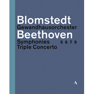 Produktbilde for Beethoven: Symphonies & Triple Concerto (UK-import) (BLU-RAY)