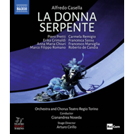 Produktbilde for Casella: La Donna Serpente: Teatro Regio Torino (Noseda) (UK-import) (BLU-RAY)