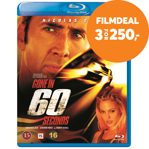 Gone In Sixty Seconds (BLU-RAY)