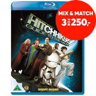 Produktbilde for The Hitchhiker's Guide To The Galaxy (2005) / Haikerens Guide Til Galaksen (BLU-RAY)