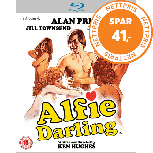 Alfie Darling (1975) (UK-import) (BLU-RAY)
