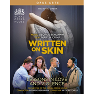 Produktbilde for Benjamin: Written On Skin - Lessons In Love And Violence - The Royal Opera (UK-import) (BLU-RAY)