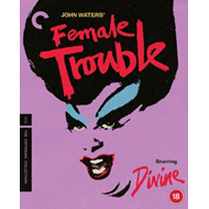 Produktbilde for Female Trouble (1974) - The Criterion Collection (UK-import) (BLU-RAY)