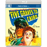 Produktbilde for Five Graves To Cairo (1943) / Veien Til Kairo - The Masters Of Cinema Series (UK-import) (BLU-RAY)