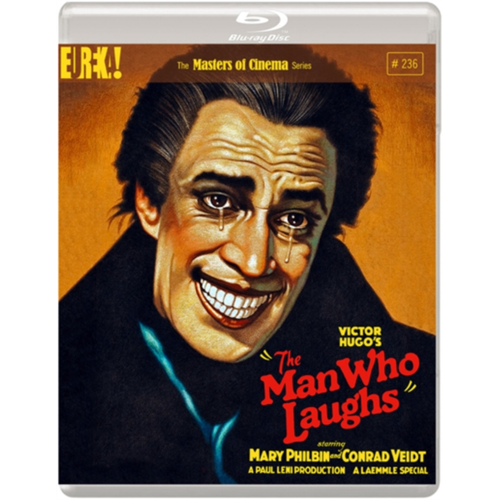 The Man Who Laughs (1928) / Mannen Som Ler - The Masters Of Cinema Series (UK-import) (BLU-RAY)