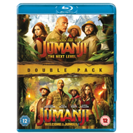 Produktbilde for Jumanji: Welcome To The Jungle (2017) / The Next Level (2019) (UK-import) (BLU-RAY)