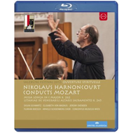 Produktbilde for Mozart: Ouverture Spirituelle (Harnoncourt) (UK-import) (BLU-RAY)