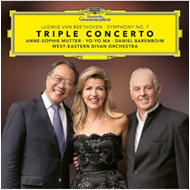 Produktbilde for Beethoven: Triple Concerto (Barenboim) (UK-import) (BLU-RAY)