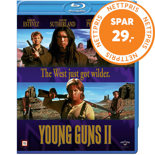 Young Guns II (1990) (BLU-RAY)