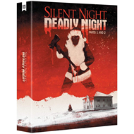 Produktbilde for Silent Night, Deadly Night: Parts 1 (1984) And 2 (1987) (UK-import) (BLU-RAY)