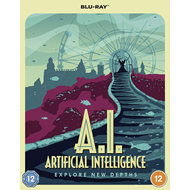Produktbilde for A.I. Artificial Intelligence (2001) - Special Poster Edition (UK-import) (BLU-RAY)