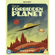Produktbilde for Forbidden Planet (1956) - Special Poster Edition (UK-import) (BLU-RAY)