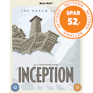 Produktbilde for Inception (2010) - Special Poster Edition (UK-import) (BLU-RAY)