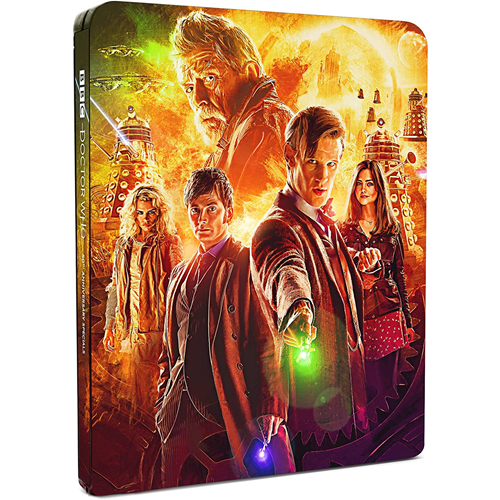 Doctor Who: 50th Anniversary - Limited Steelbook Edition (UK-import) (BLU-RAY)